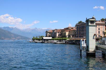 Der Hafen an der Westseite von Bellagio
