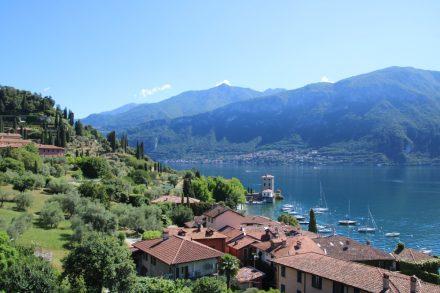 Blick vom Hotel Belvedere - Schöne Aussicht