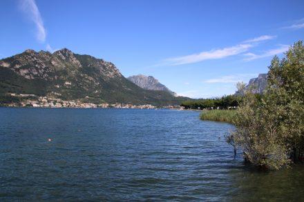 Die 3 Seen Tour beginnt direkt am Camping Rivabella am Lago di Garlate