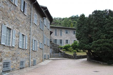 Die Abtei Piona wird heute noch von Zisterzienser-Mönchen bewohnt