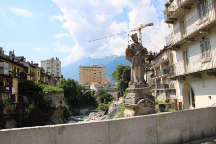Der heilige Nepomuk in Chiavenna