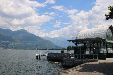 In den Sommermonaten kann man von Colico aus zu den beliebtesten Orten am Comer See fahren