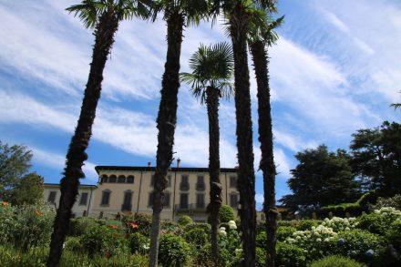 Der Garten der Villa Bertarelli kann besichtigt werden
