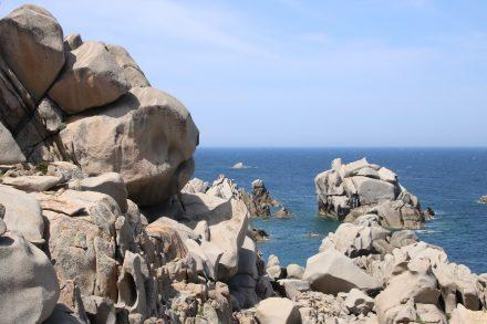 Die faszinierende Felslandschaft am Capo Testa auf Sardinien