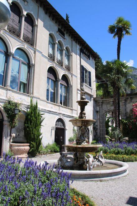 Im Seitengebäude der Villa Monastero finden Konferenzen und Tagungen statt